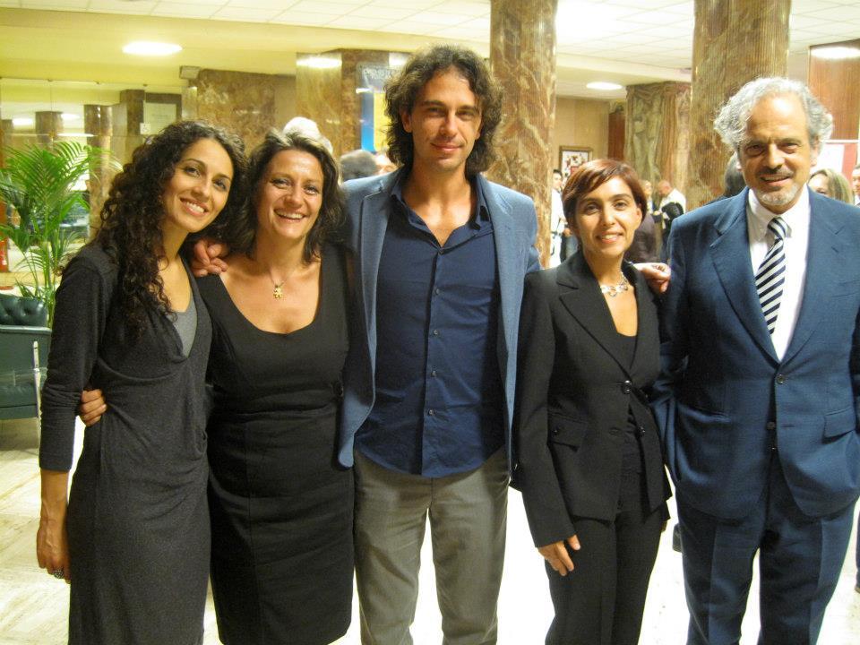Maria Elena Romanazzi, Carla Magnan, Francesco Lanzillotta, Carla Rebora e Giorgo Battistelli Firenze Play it! 2012