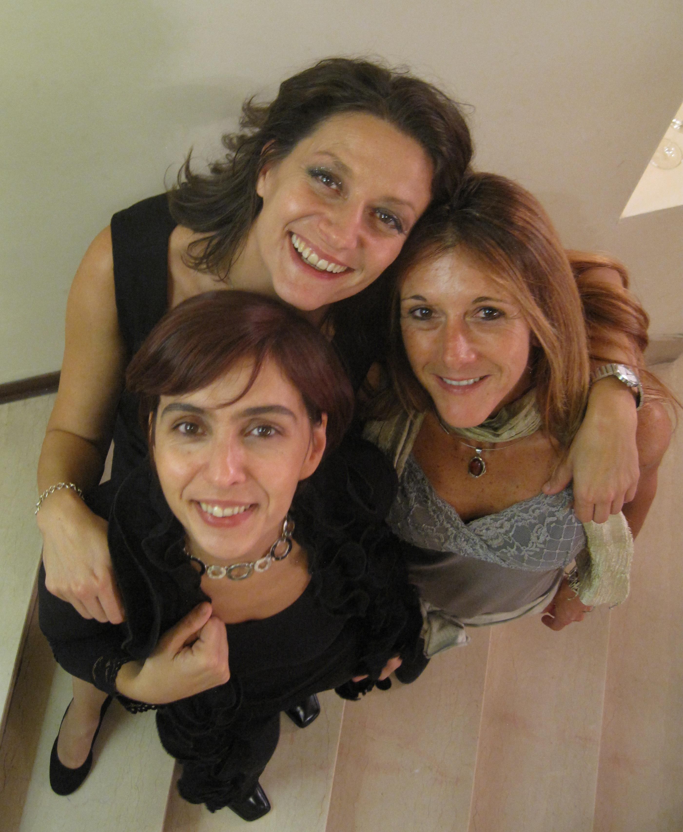 Carla Rebora, Carla Magnan e Roberta Vacca