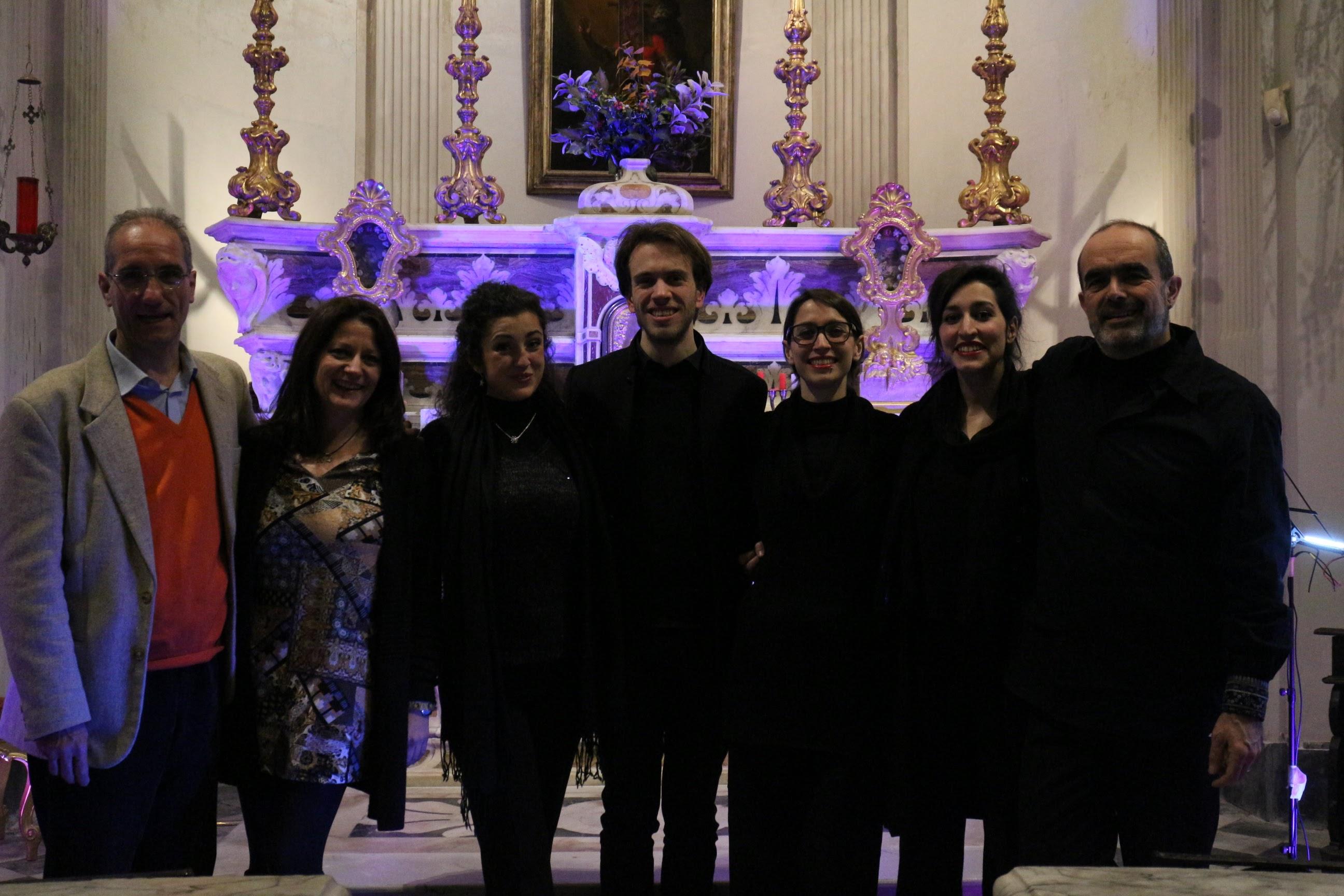 A. Basevi, C. Magnan, G. Biagi, Abstract Liquid Arkestra, Riccardo Da Pelo, Genova 2016