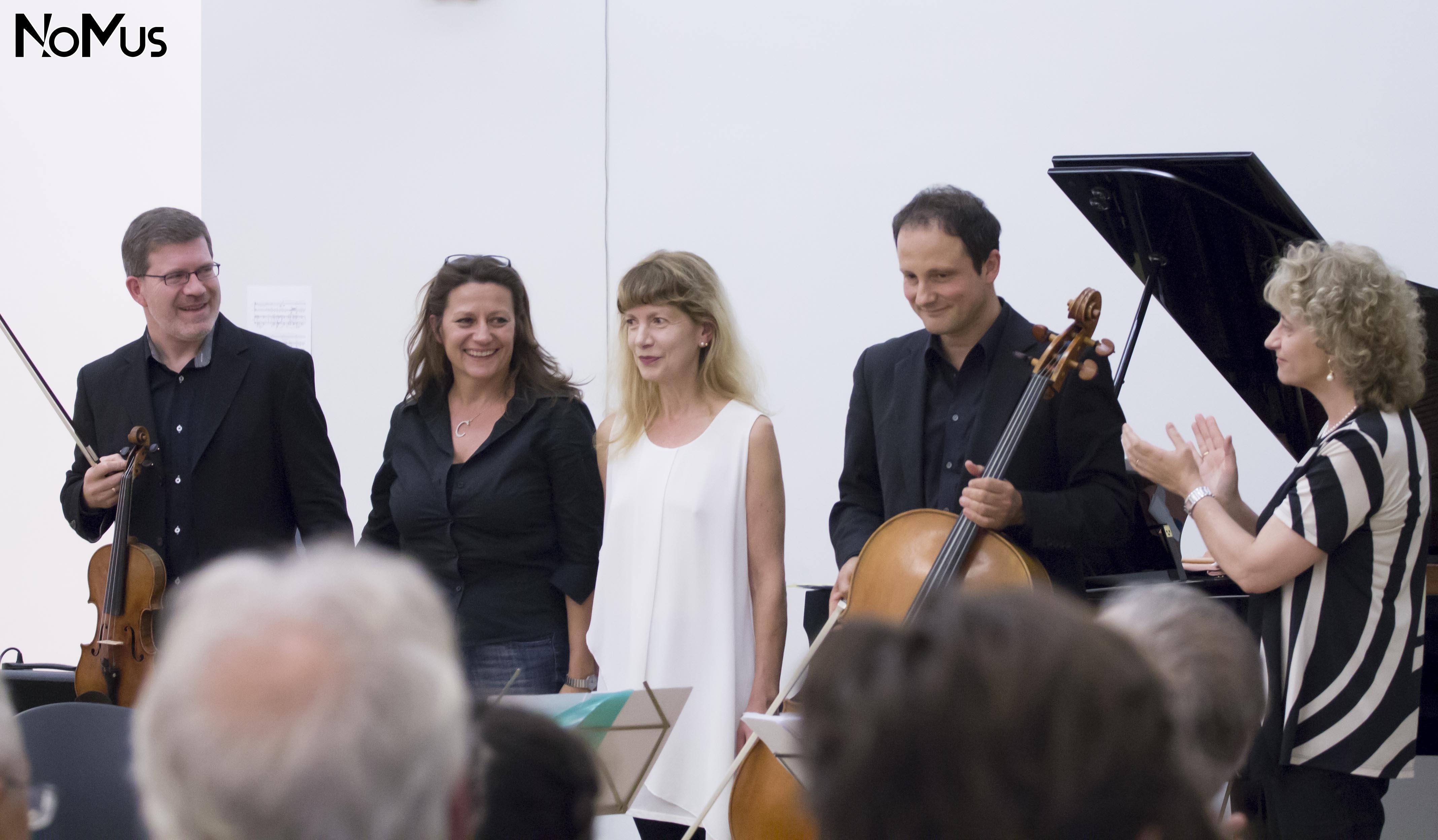 Carla Magnan, Sonia Bo e il Trio Flair ©Nomus Milano 2016
