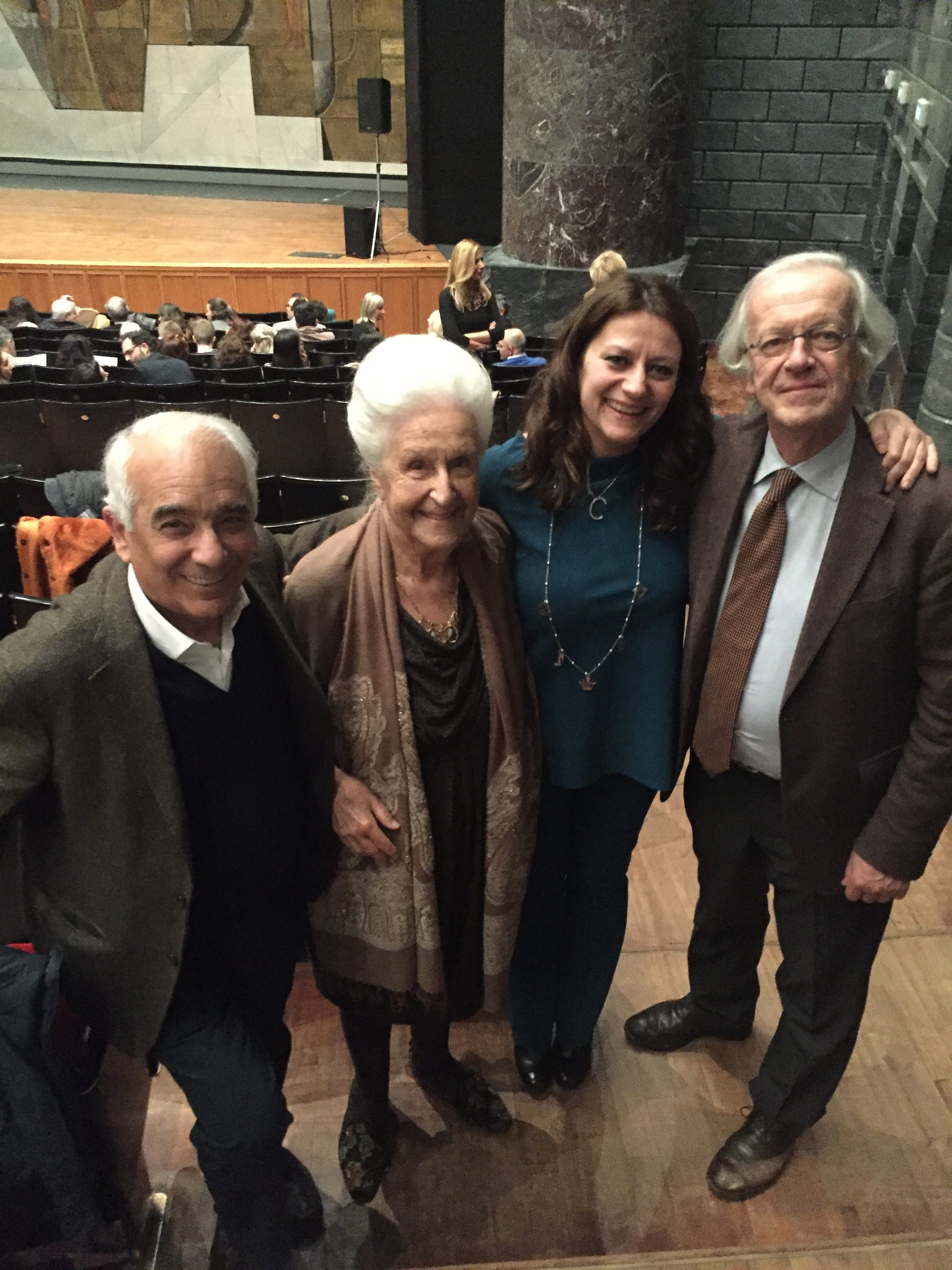 ALDO BENNICI, LIDIA BALDECCHI ARCURI, CARLA MAGNAN E PIETRO BORGONOVO, GENOVA TEATRO CARLO FELICE 2018