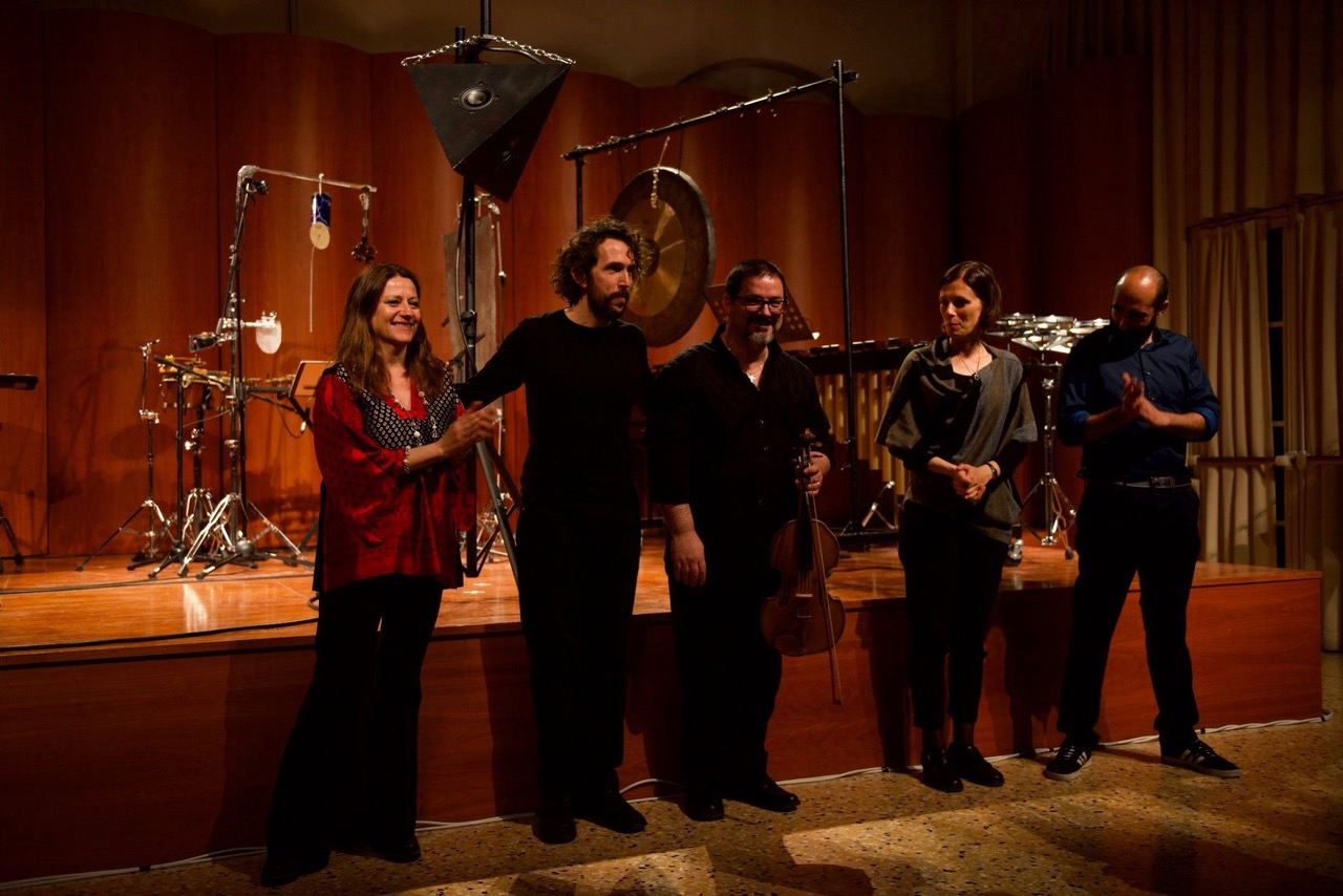 ©VersoTraiettorie con Simone Beneventi, Gabriele Croci, Francesca Verunelli, Marco Matteo Markidis. Casa della Musica, Parma, 2019