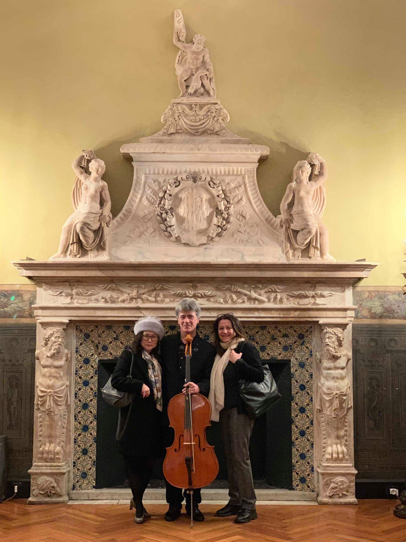 ©Lynn Czae, Giovanni Ricciardi and Carla Magnan. Palazzo della Meridiana, Genova, 2020